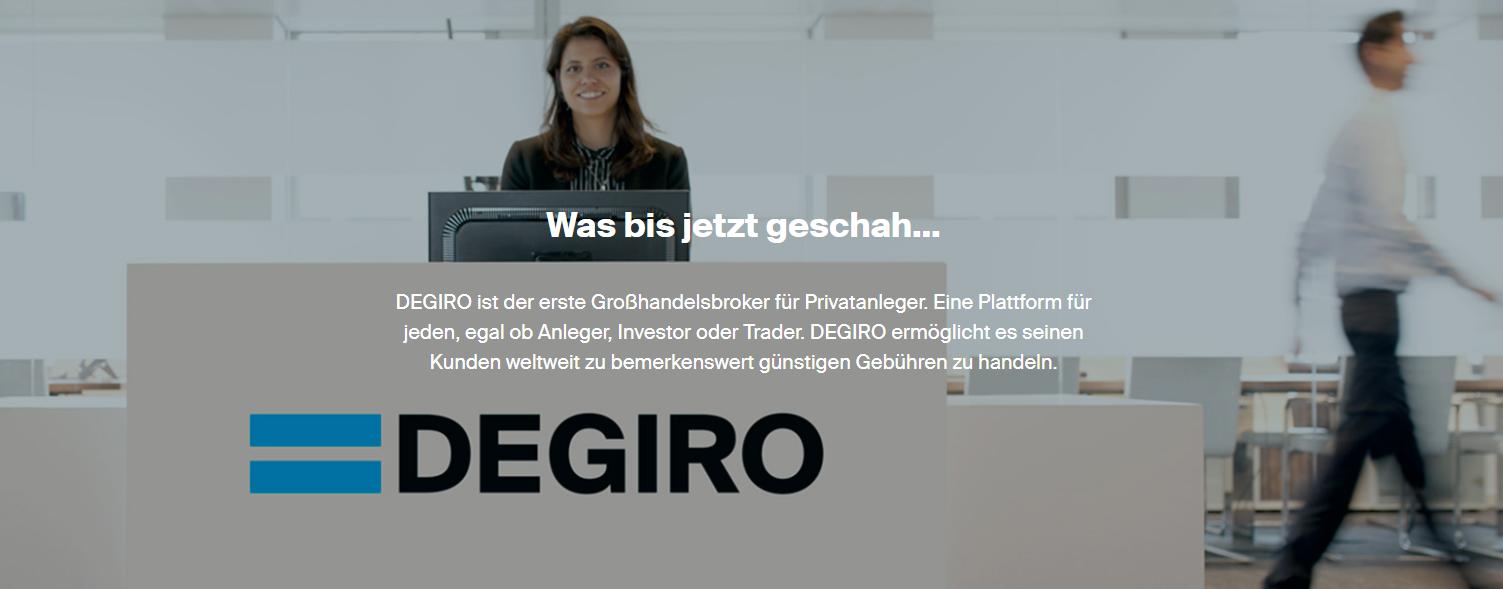 DEGIRO ist der erste Großhandelsbroker für Privatanleger
